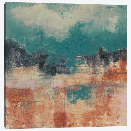 Teal Sky II Canvas Print #JGO550} by Jennifer Goldberger Canvas Art Print