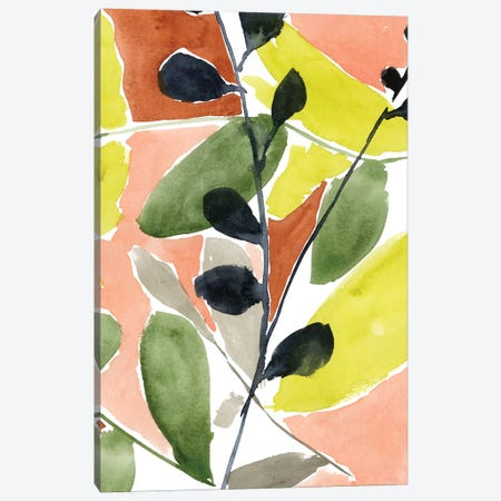 Tropic Fun I Canvas Print #JGO555} by Jennifer Goldberger Canvas Artwork