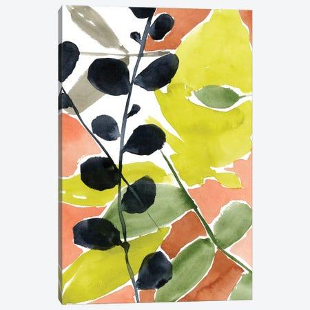 Tropic Fun II Canvas Print #JGO556} by Jennifer Goldberger Canvas Wall Art