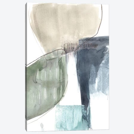 Verdant Divide I Canvas Print #JGO557} by Jennifer Goldberger Canvas Artwork