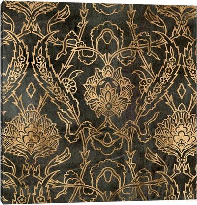 Golden Damask II Canvas Art Print