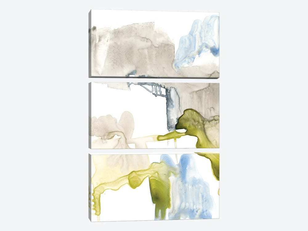 Wandering Layers I 3-piece Canvas Art Print