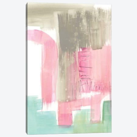 Whimsy & Watercolor I Canvas Print #JGO563} by Jennifer Goldberger Canvas Wall Art