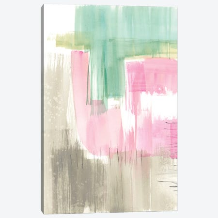 Whimsy & Watercolor II Canvas Print #JGO564} by Jennifer Goldberger Canvas Print