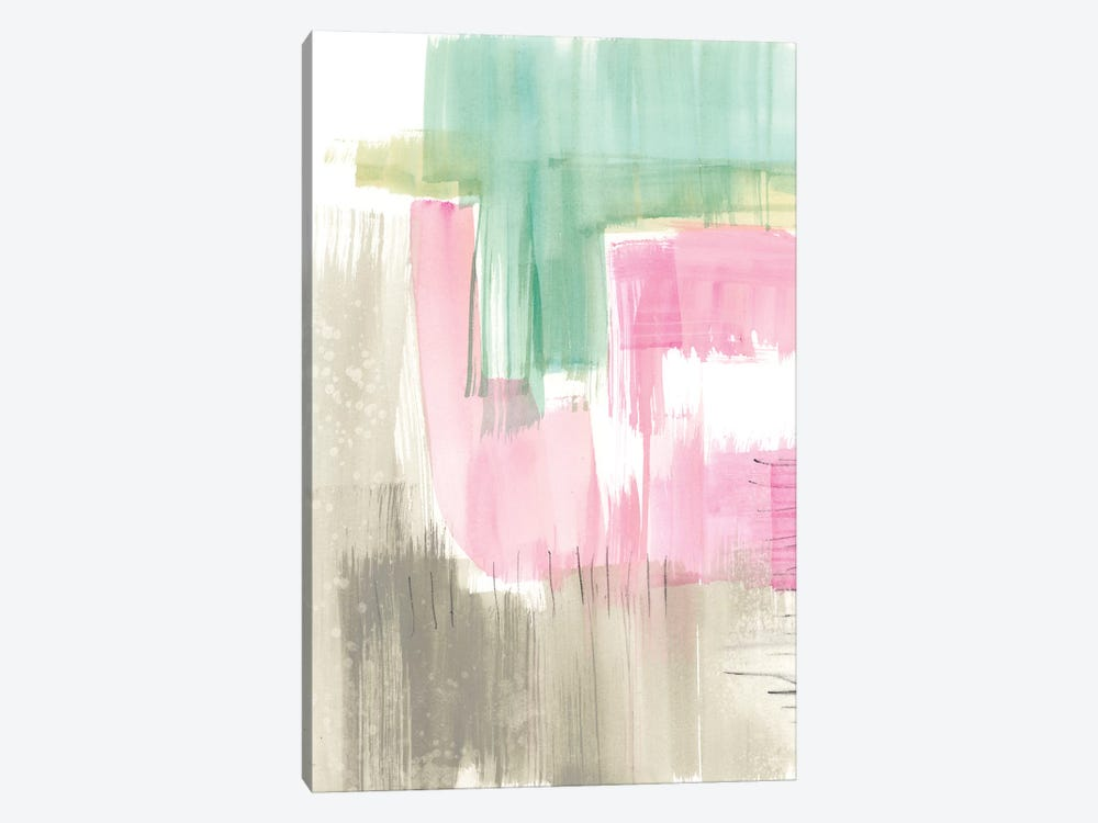 Whimsy & Watercolor II by Jennifer Goldberger 1-piece Canvas Wall Art