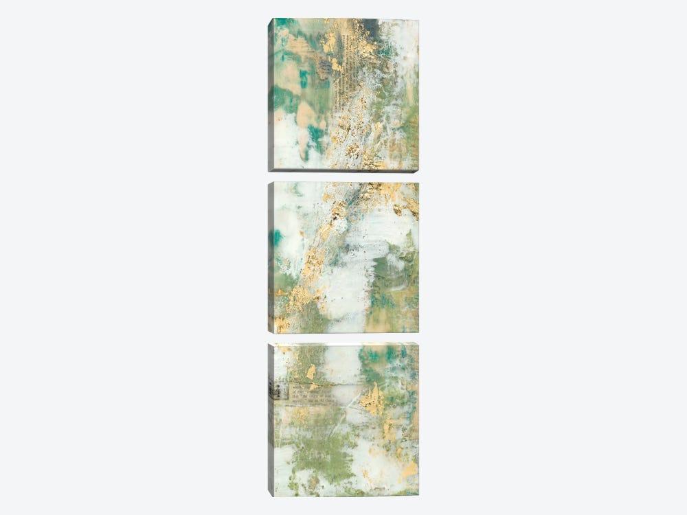 Aural Flow II by Jennifer Goldberger 3-piece Canvas Art Print