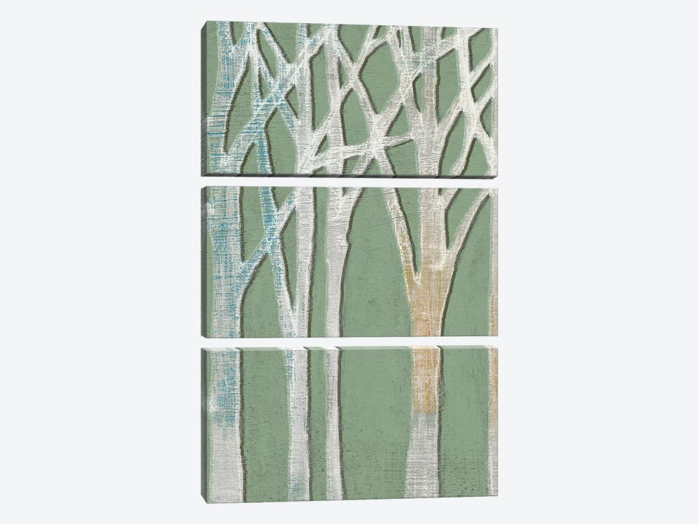 Birchline Triptych I by Jennifer Goldberger 3-piece Canvas Art
