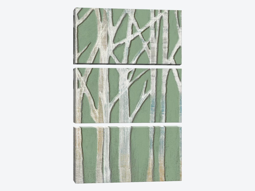 Birchline Triptych II by Jennifer Goldberger 3-piece Art Print
