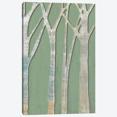 Birchline Triptych III Canvas Print #JGO575} by Jennifer Goldberger Canvas Art
