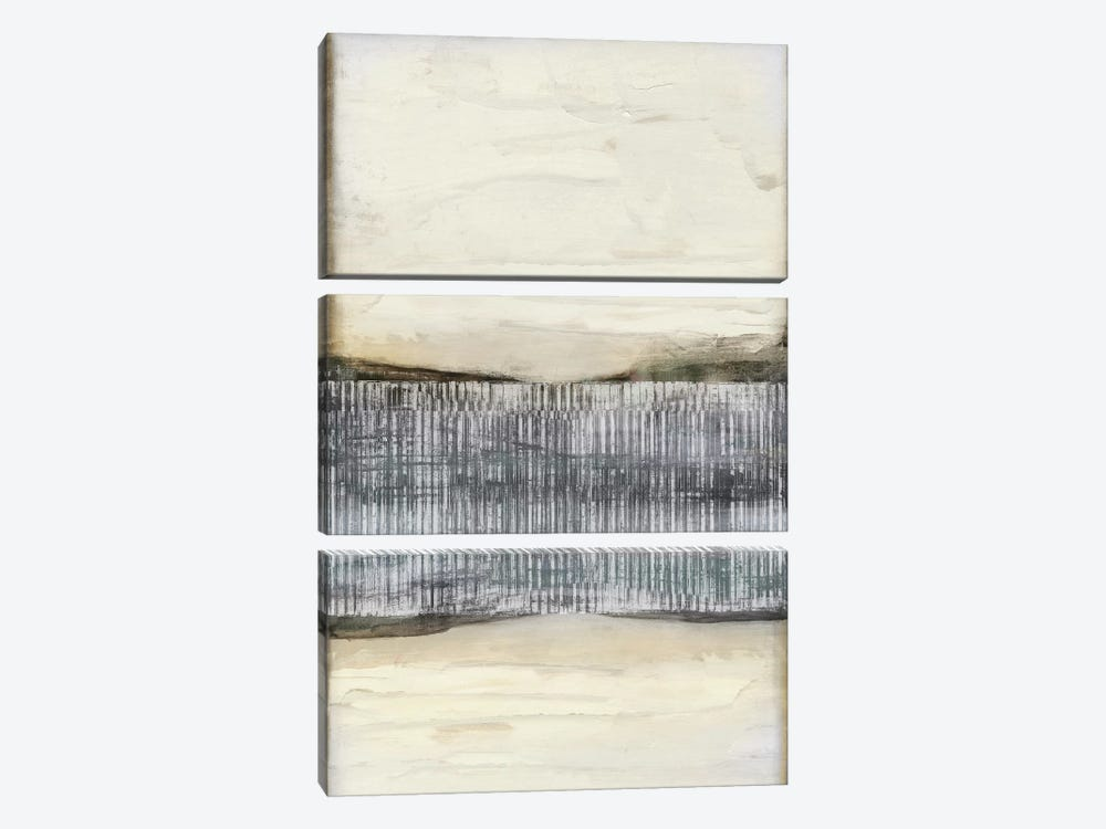 Divided Horizon I by Jennifer Goldberger 3-piece Canvas Wall Art