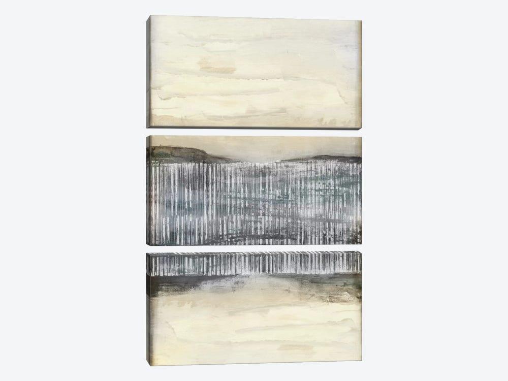 Divided Horizon II by Jennifer Goldberger 3-piece Canvas Print
