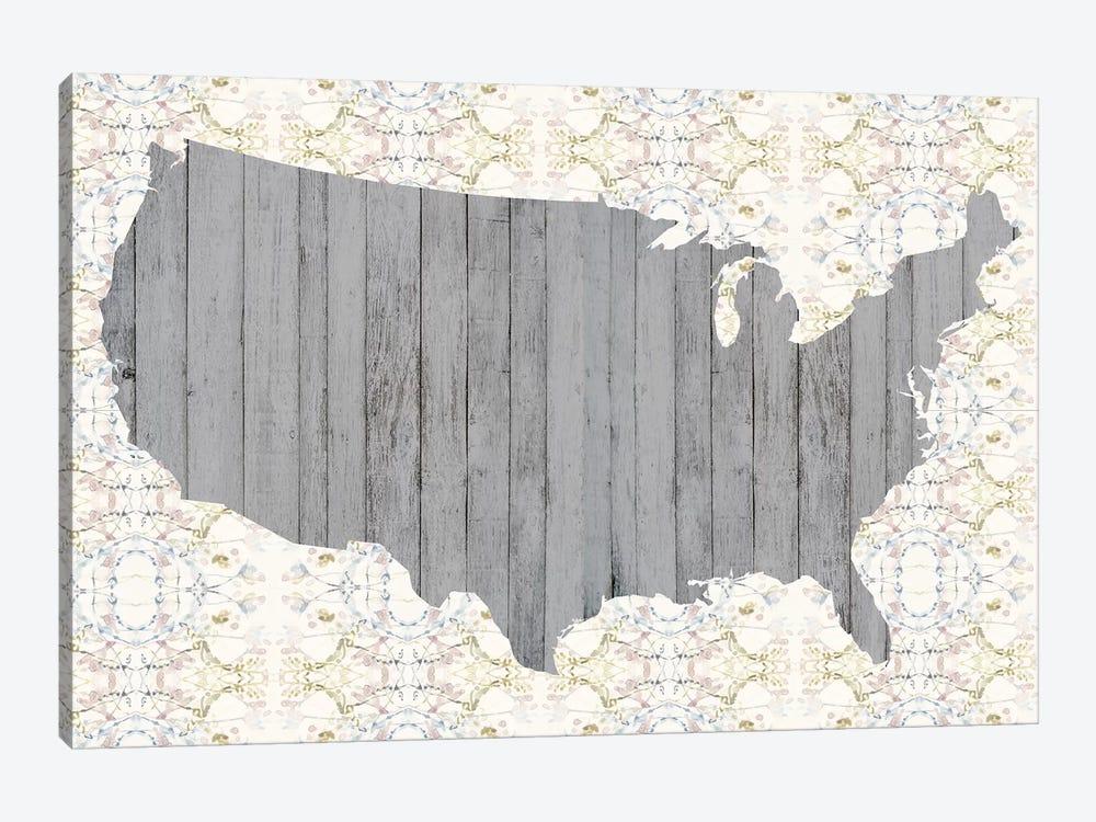 Flower Map IV by Jennifer Goldberger 1-piece Art Print
