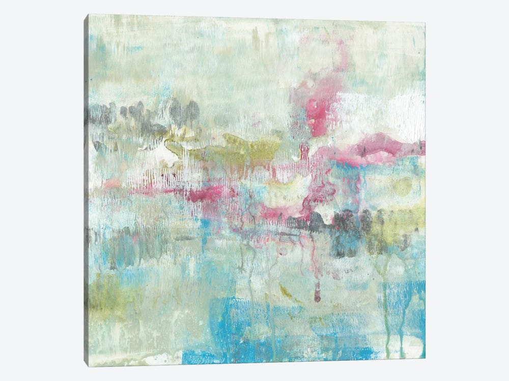 Fresh Abstract I by Jennifer Goldberger 1-piece Canvas Wall Art