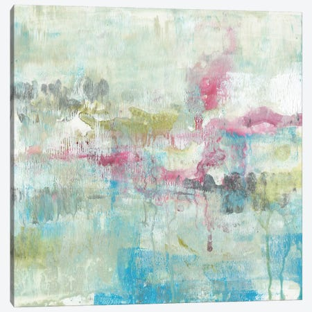 Fresh Abstract I 3-Piece Canvas #JGO584} by Jennifer Goldberger Canvas Print