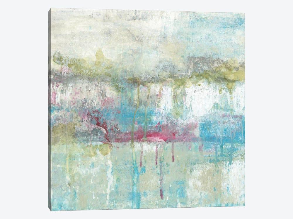 Fresh Abstract II by Jennifer Goldberger 1-piece Canvas Print