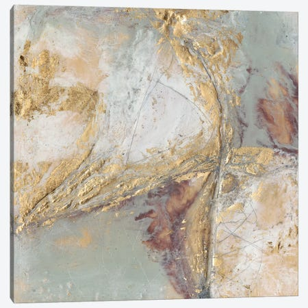 Gilded Circuit I Canvas Print #JGO586} by Jennifer Goldberger Canvas Art Print