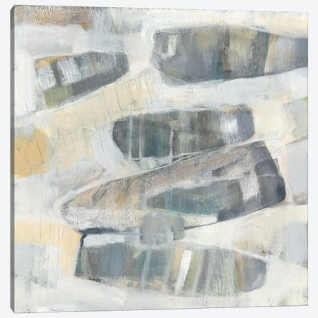 Grey Orbs I Canvas Print #JGO58} by Jennifer Goldberger Canvas Art Print