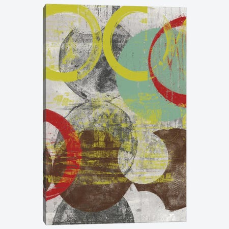 Layers & Circles I Canvas Print #JGO590} by Jennifer Goldberger Art Print