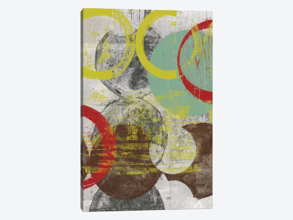 Layers & Circles I by Jennifer Goldberger 1-piece Art Print