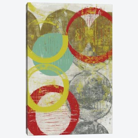 Layers & Circles II Canvas Print #JGO591} by Jennifer Goldberger Canvas Print