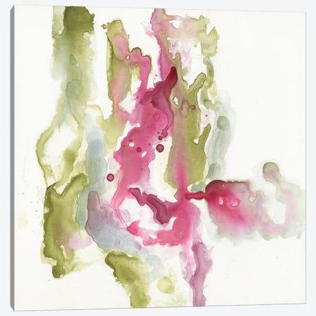 Minimalist Fuchsia I Canvas Print #JGO596} by Jennifer Goldberger Canvas Art