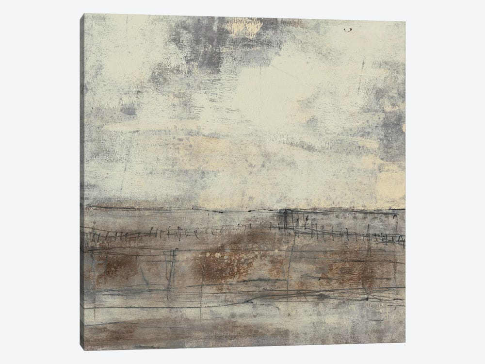 Neutral Plane I by Jennifer Goldberger 1-piece Canvas Art Print