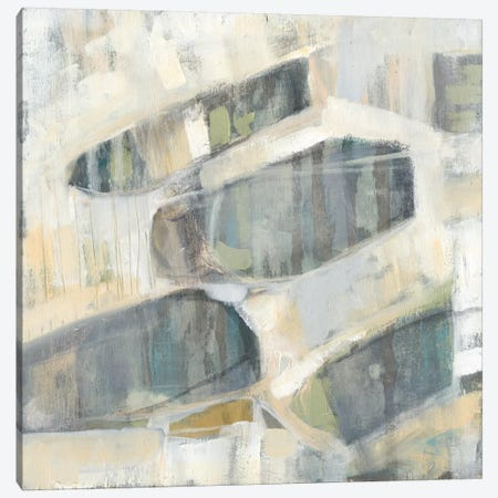 Grey Orbs II Canvas Print #JGO59} by Jennifer Goldberger Art Print