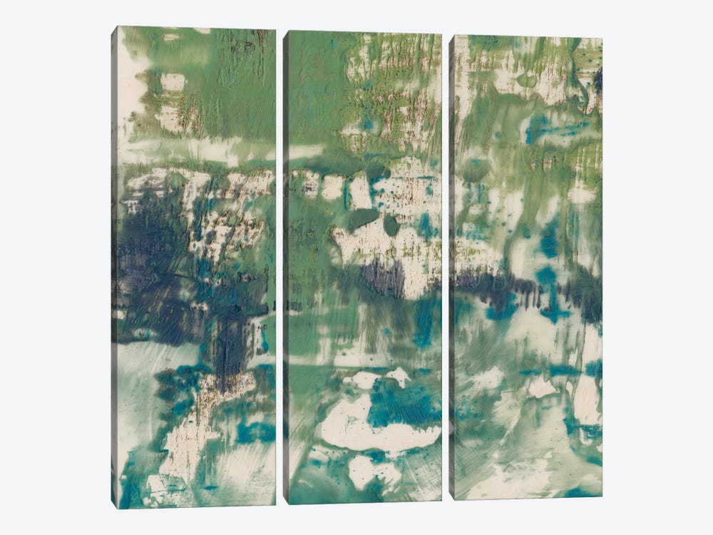 Obscured Horizon I by Jennifer Goldberger 3-piece Canvas Artwork