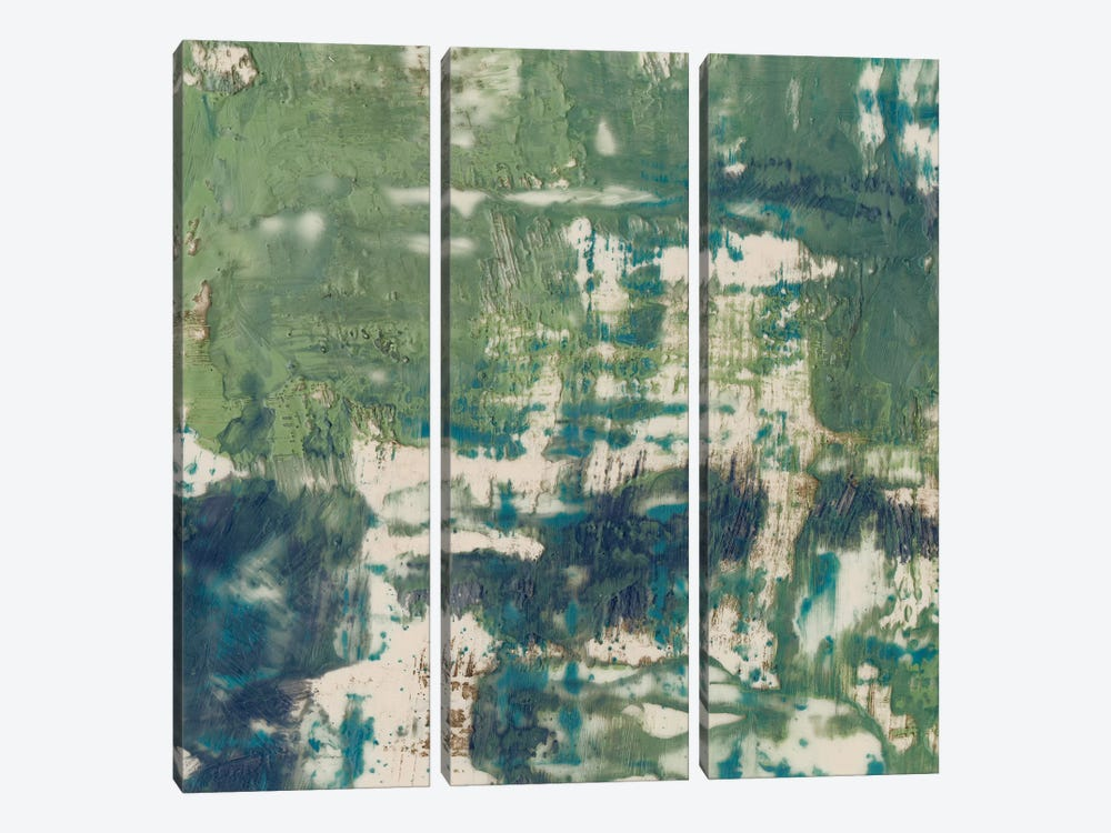 Obscured Horizon II by Jennifer Goldberger 3-piece Canvas Print
