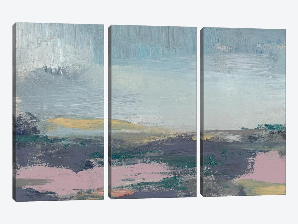 Pretty Horizon I by Jennifer Goldberger 3-piece Canvas Artwork