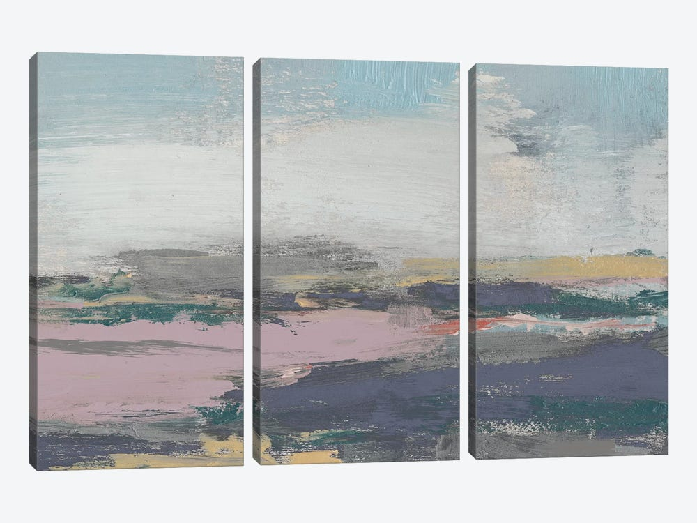 Pretty Horizon II by Jennifer Goldberger 3-piece Art Print
