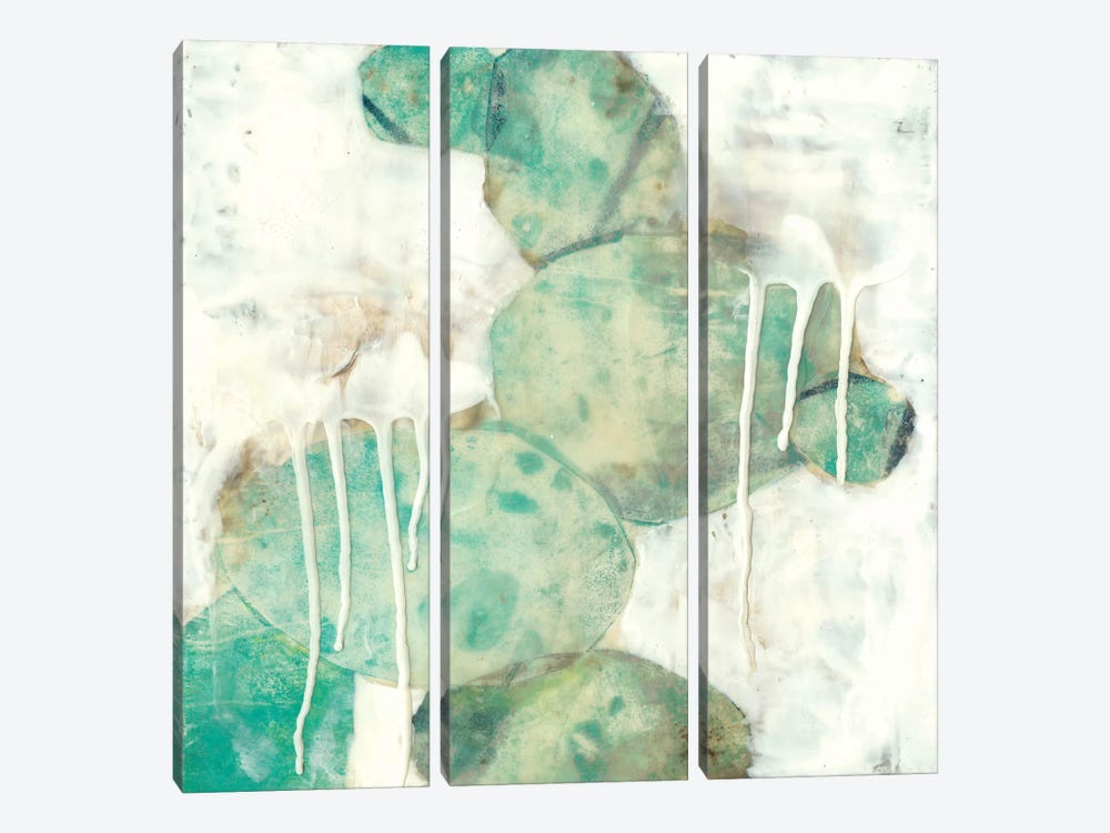 Riverbed I by Jennifer Goldberger 3-piece Art Print