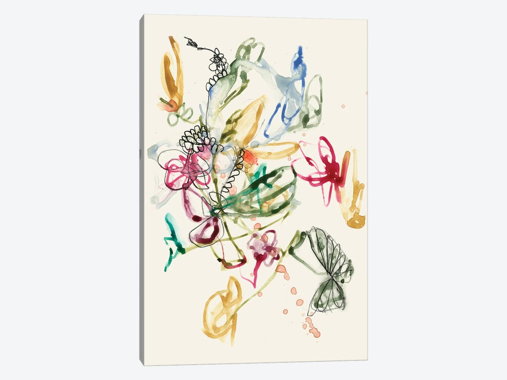 Scribble Arrangement I by Jennifer Goldberger 1-piece Art Print