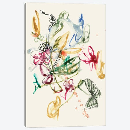 Scribble Arrangement I Canvas Print #JGO607} by Jennifer Goldberger Canvas Wall Art