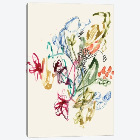 Scribble Arrangement II Canvas Print #JGO608} by Jennifer Goldberger Canvas Art Print