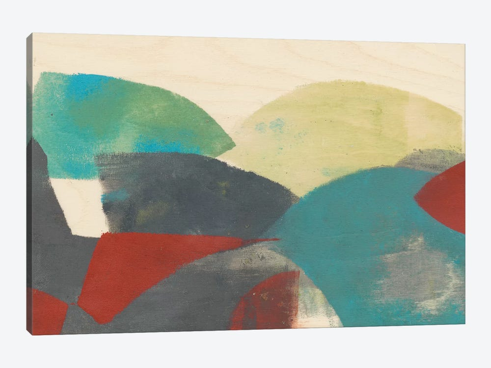 Ship Shape I by Jennifer Goldberger 1-piece Art Print
