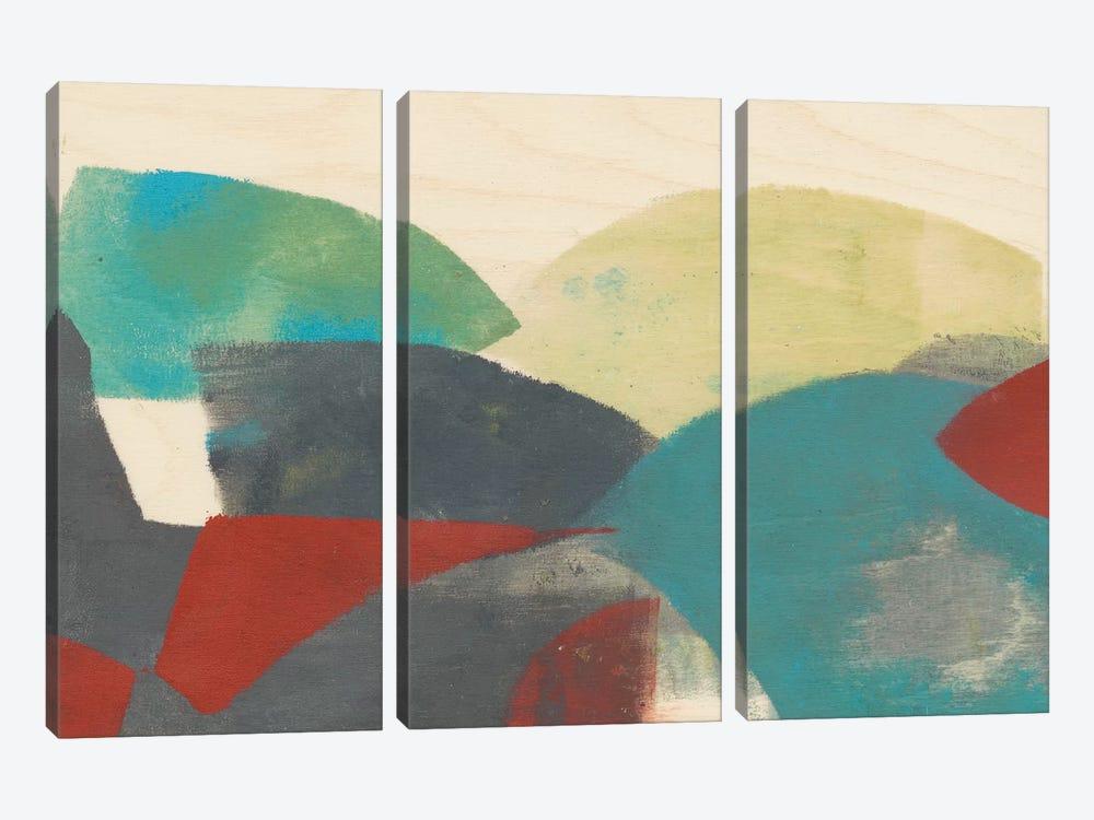 Ship Shape I by Jennifer Goldberger 3-piece Art Print