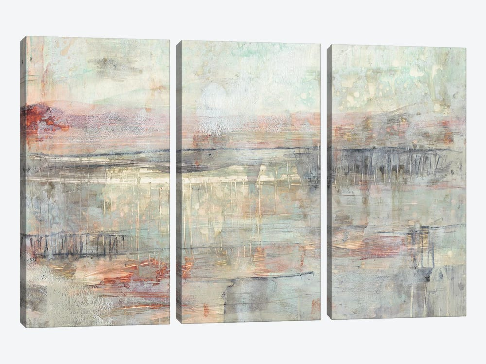 Soft Scape I by Jennifer Goldberger 3-piece Canvas Wall Art