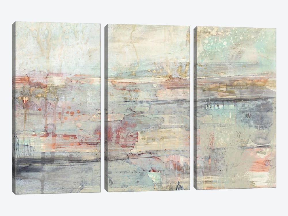 Soft Scape II by Jennifer Goldberger 3-piece Canvas Print