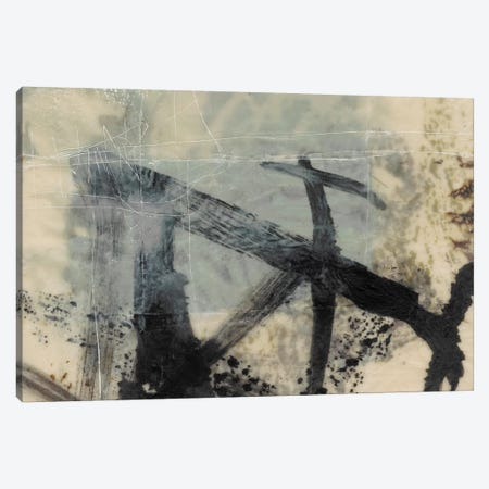Sumi-E And Wax I Canvas Print #JGO613} by Jennifer Goldberger Canvas Art