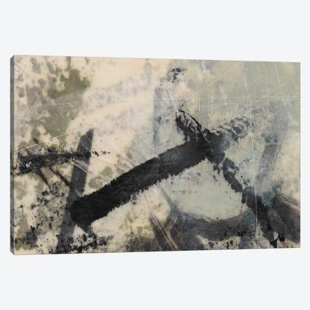 Sumi-E And Wax II Canvas Print #JGO614} by Jennifer Goldberger Canvas Art Print