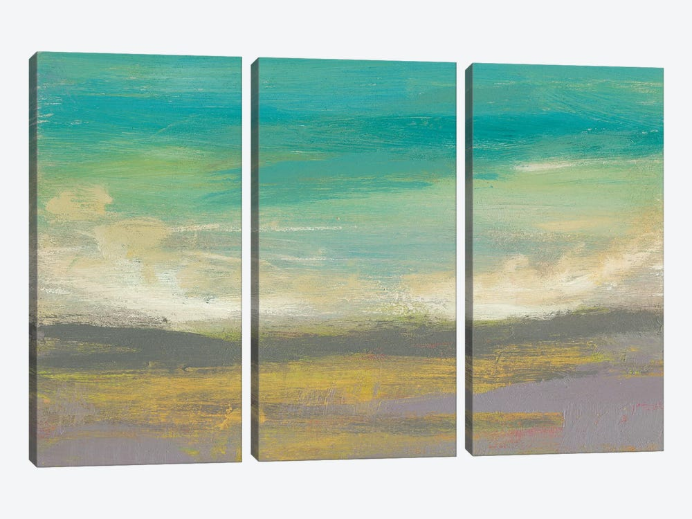 Sunset Study II 3-piece Canvas Print