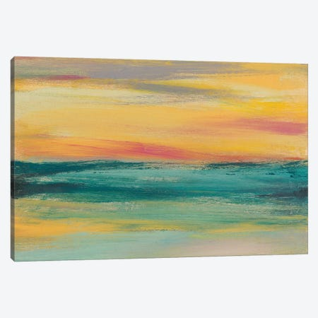 Sunset Study III Canvas Print #JGO617} by Jennifer Goldberger Canvas Art Print