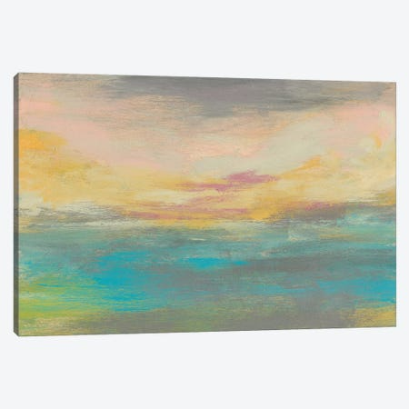 Sunset Study IV 3-Piece Canvas #JGO618} by Jennifer Goldberger Canvas Artwork