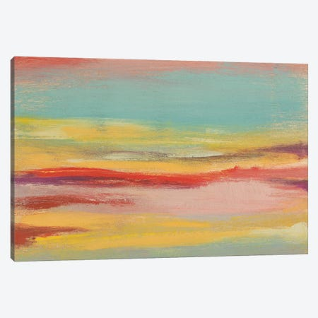 Sunset Study V Canvas Print #JGO619} by Jennifer Goldberger Canvas Wall Art