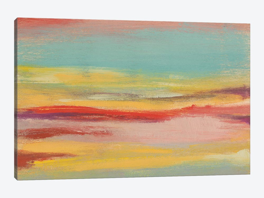 Sunset Study V by Jennifer Goldberger 1-piece Canvas Artwork