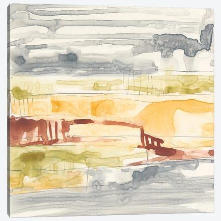 Tiered Layers I 3-Piece Canvas #JGO623} by Jennifer Goldberger Canvas Art Print