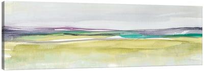 Amethyst & Emerald Horizon II Canvas Art Print