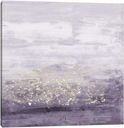Amethyst Glitter I Canvas Art Print