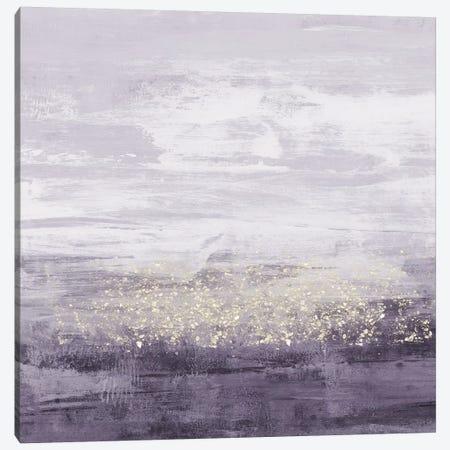 Amethyst Glitter II Canvas Print #JGO628} by Jennifer Goldberger Canvas Art Print